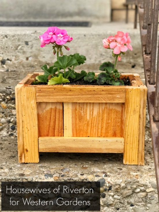 DIY Porch Planter Box