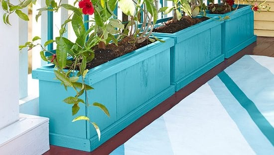 Porch Planters Idea DIY