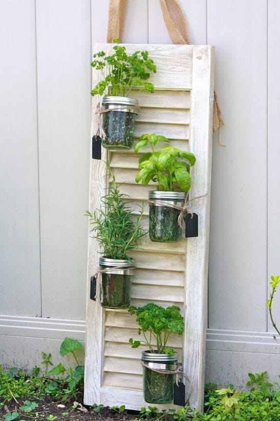 vertical herb garden diy