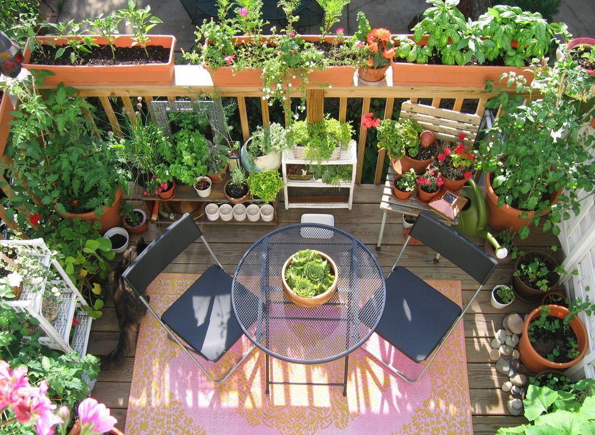 11 Deck Vegetable Garden Ideas To Grow More In Less Space ...