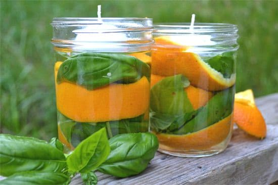 homemade mosquito repellent candle ideas