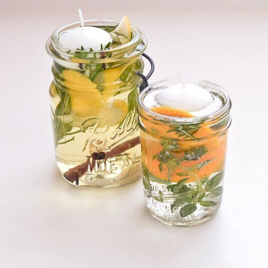 mason jar mosquito repellent candles