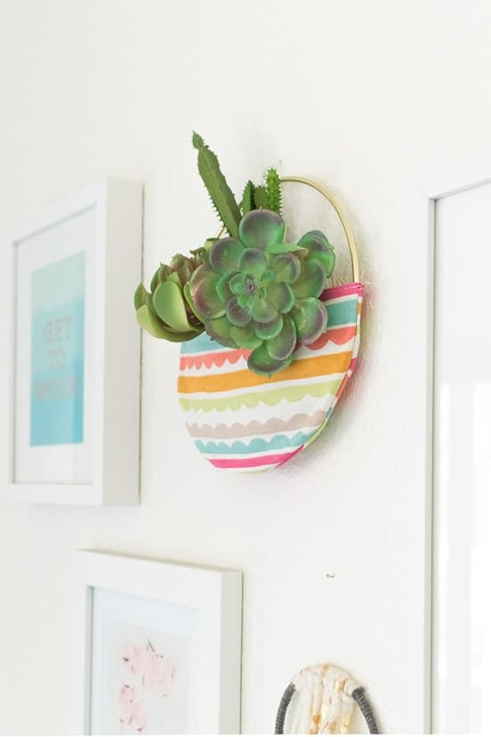 Fabric Pocket Planter