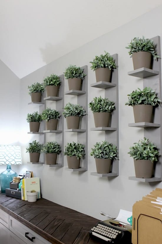 16 Diy Indoor Plant Wall Projects Anyone Can Do Living