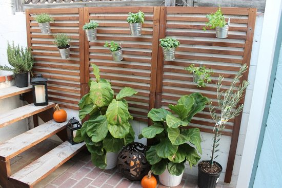 Vertical Wall Garden ikea hacks