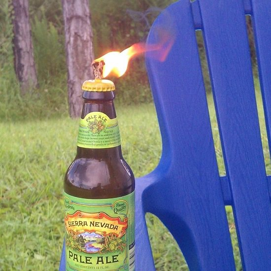 diy tiki torch ideas