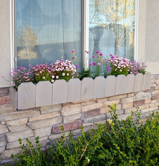 23 DIY Window Box Ideas For Curb Appeal Of Your Home