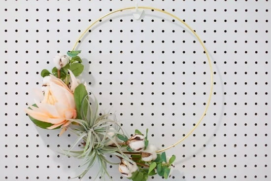 Modern Air Plant Wreath
