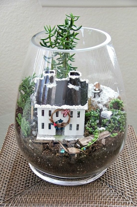 Christmas Terrarium Ideas