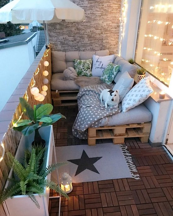 11 Most Amazing Apartment Balcony Lighting Ideas Balcony