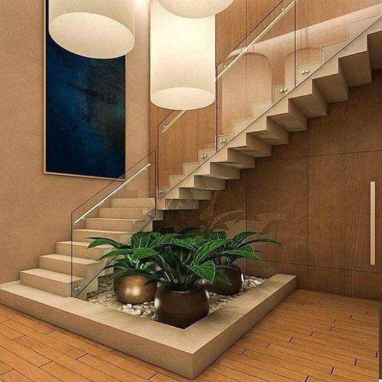 Stair Design Budget And Important Things To Consider: 15 Unique Ideas For Indoor Garden Under Stairs
