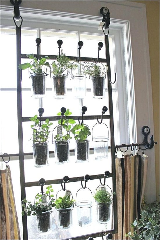 diy indoor window garden project