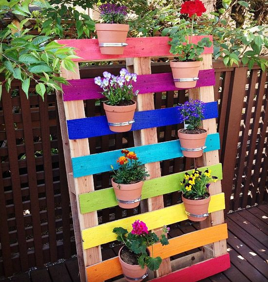 16 Colorful DIY Vertical Garden Ideas | Balcony Garden Web on backyard urn ideas, backyard patio ideas, cheap retaining wall ideas, backyard rose ideas, diy flower garden design ideas, backyard fence ideas, backyard gift ideas, tropical landscape patio design ideas, backyard outdoor ideas, backyard wood ideas, backyard landscaping ideas, back yard landscaping design ideas, backyard shelf ideas, small backyard ideas, outdoor flower pot decorating ideas, backyard plant ideas, backyard statue ideas, backyard bed ideas, backyard light ideas, backyard flowers ideas,