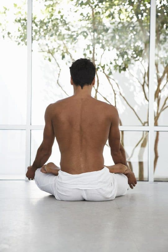"""Make your own Indoor Yoga Studio or """"Yoga Sanctuary"""" in your urban home to bring nature inside and perform Yoga poses and Pranayam in peace."""