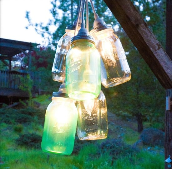 DIY Canning Jar light