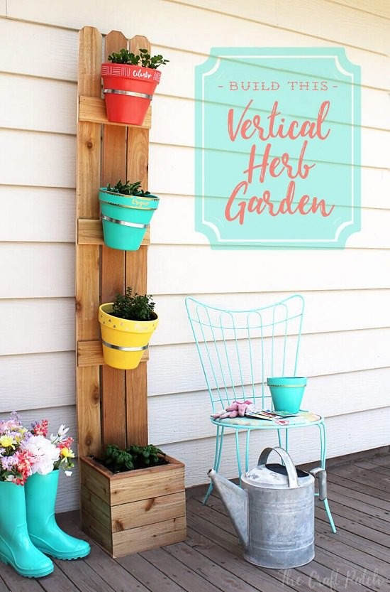 DIY Vertical Gardening Ideas 12