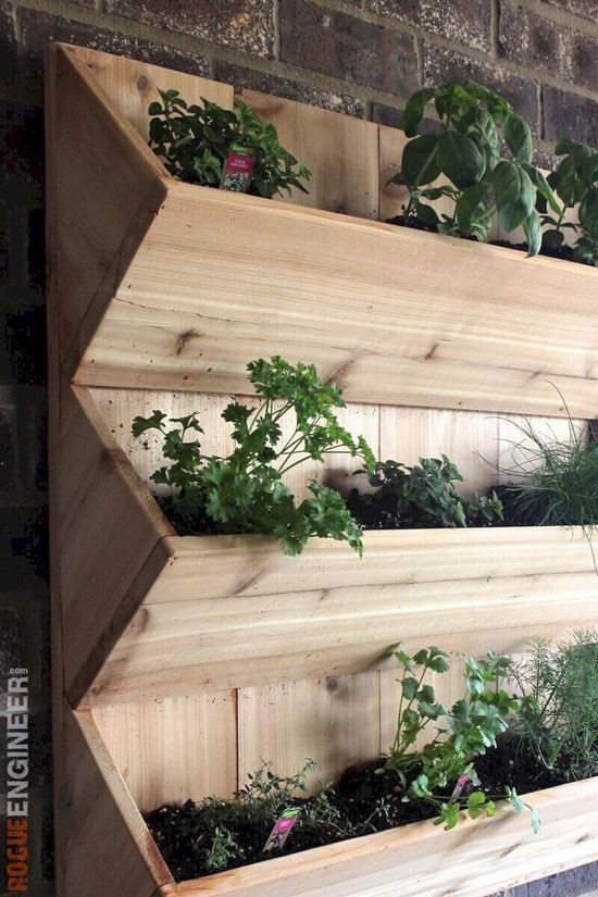 DIY Vertical Gardening Ideas 13
