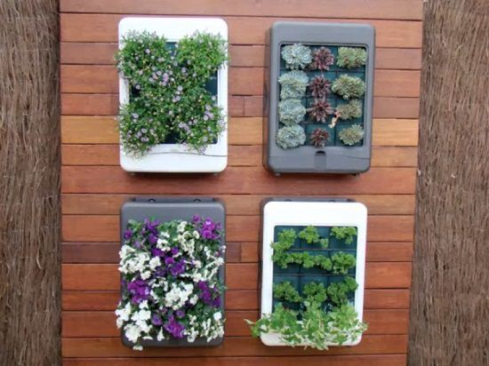 DIY Vertical Gardening Ideas 23