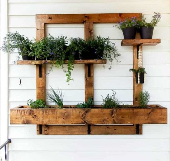 DIY Vertical Gardening Ideas 9