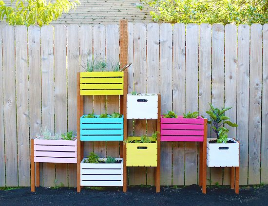 DIY Vertical Gardening Ideas 15