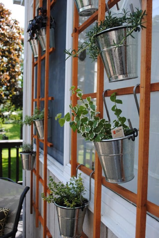 DIY Vertical Gardening Ideas 17
