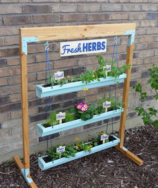 DIY Vertical Gardening Ideas 18