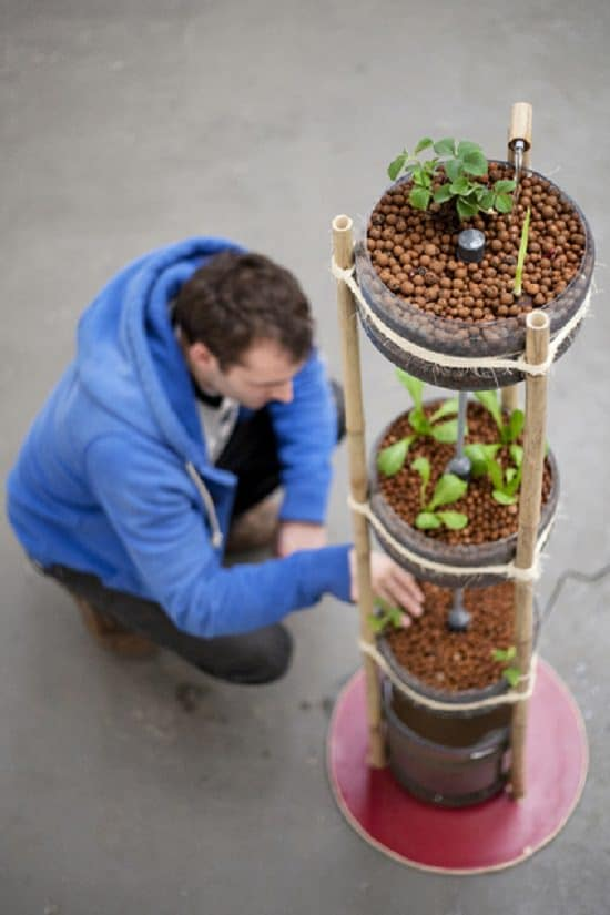 DIY Vertical Gardening Ideas 19