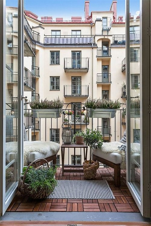 If you are someone who likes simplicity and loves minimalism then you'll fall in love with these Scandinavian Balcony Garden Designs!