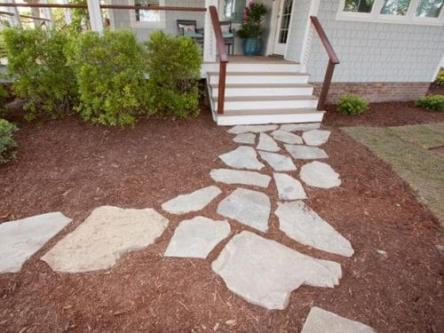 DIY Garden Walkway Ideas 24