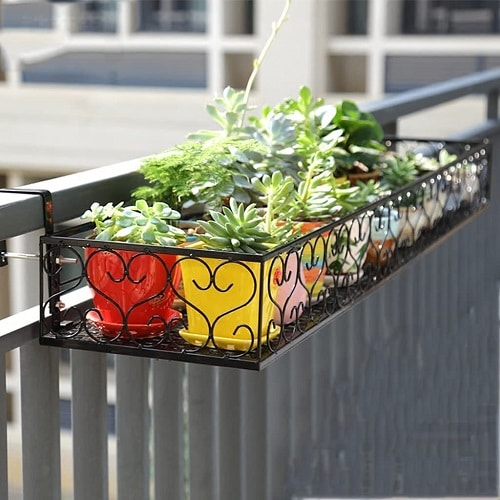 Balcony Hanging Planter Ideas 7