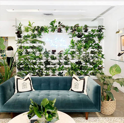 Green Ideas for Modern Wall Decoration 9