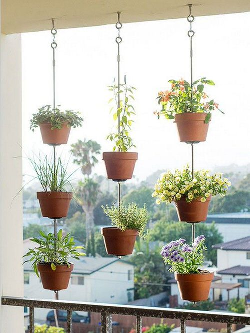 Balcony Hanging Planter Ideas