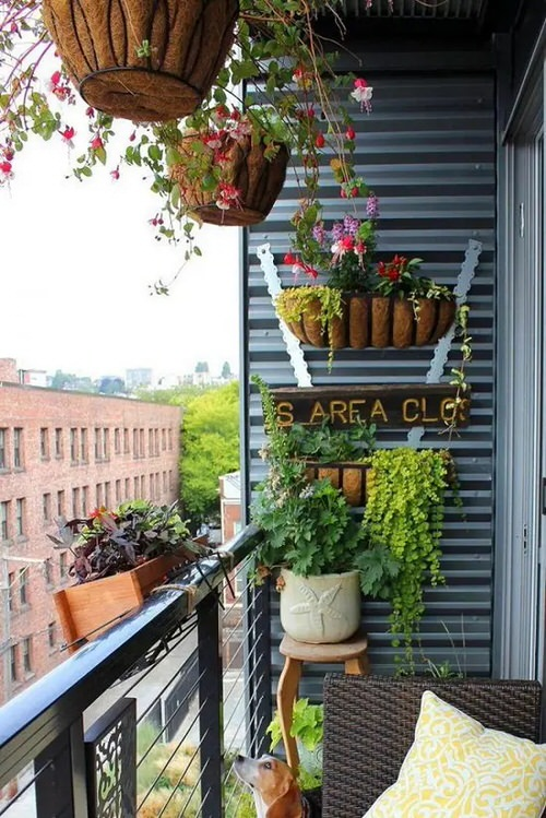 Balcony Hanging Planter Ideas 3