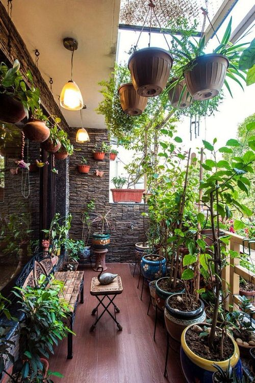 Balcony Hanging Planter Ideas 4