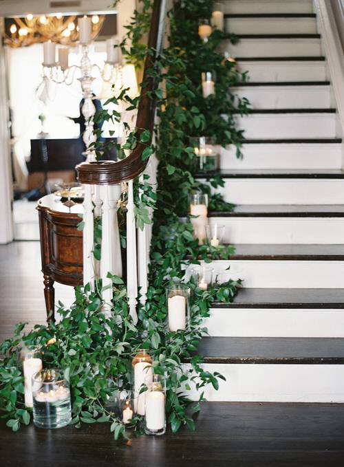 Indoor Garden on the Staircase 8