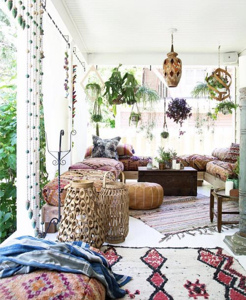 Best Boho Garden Design Ideas 6