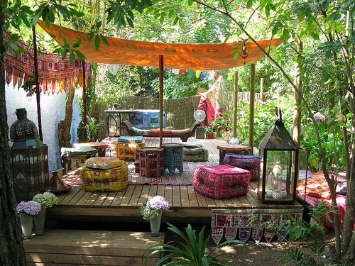 Best Boho Garden Design Ideas 7