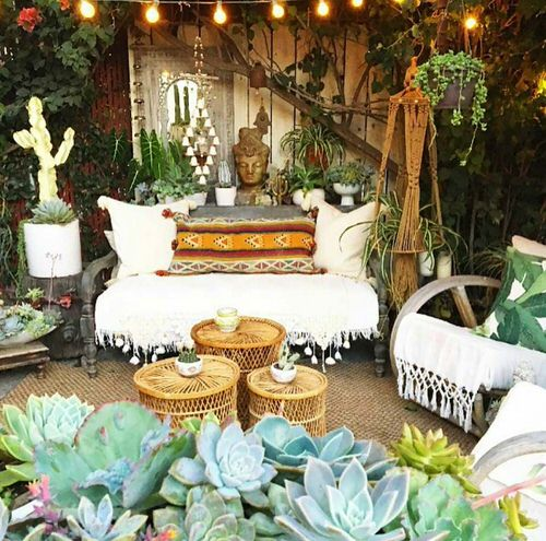 Best Boho Garden Design Ideas 8