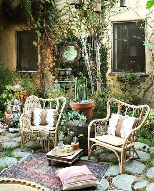 Best Boho Garden Design Ideas 9