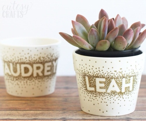 DIY Houseplant Pots Ideas and Makeover 10