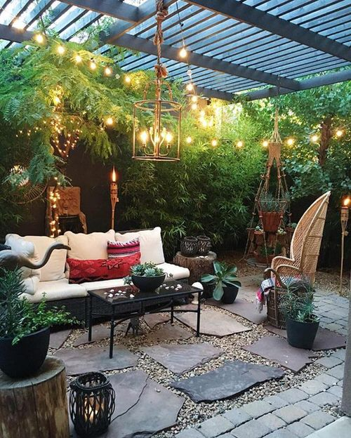 Best Boho Garden Design Ideas 10