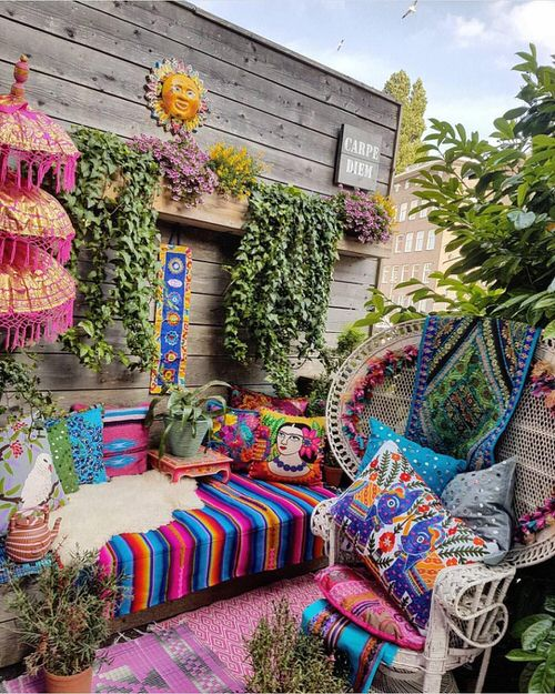 Best Boho Garden Design Ideas