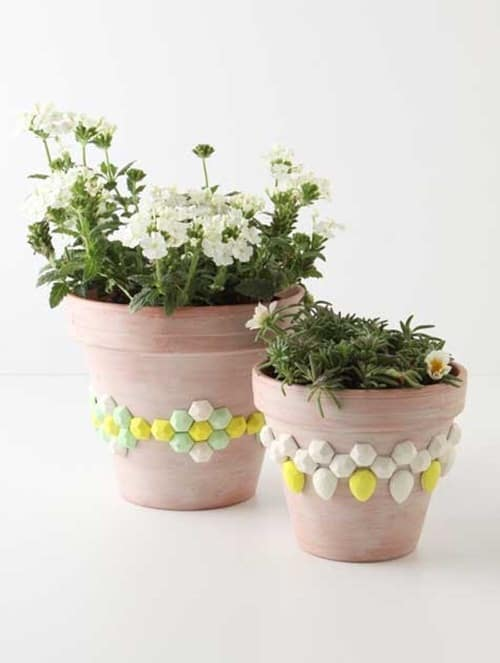 DIY Houseplant Pots Ideas and Makeover 13