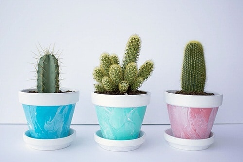DIY Houseplant Pots Ideas and Makeover 16