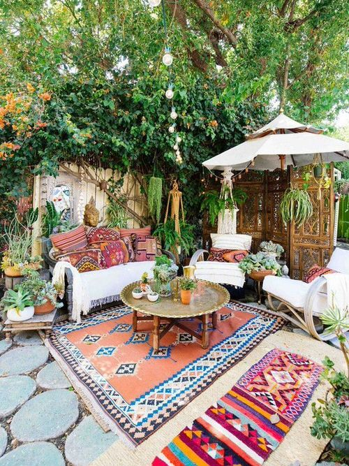 Best Boho Garden Design Ideas 2