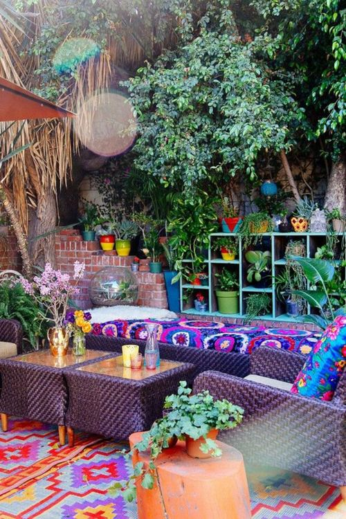 Best Boho Garden Design Ideas 3