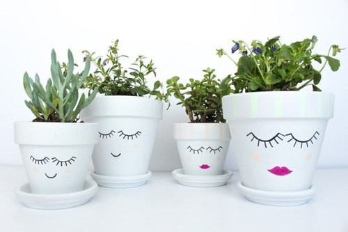 DIY Houseplant Pots Ideas and Makeover 4
