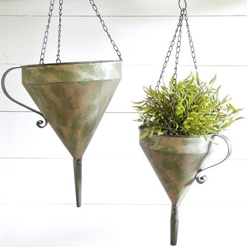 Planter Ideas from Kitchen Items 8