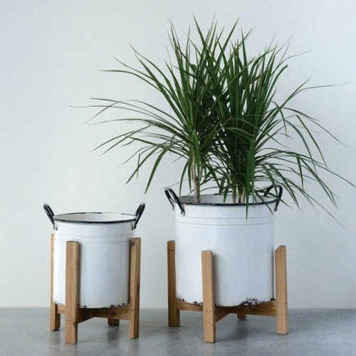 Planter Ideas from Kitchen Items 9