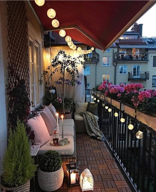 Peaceful Balcony Garden Pictures 8